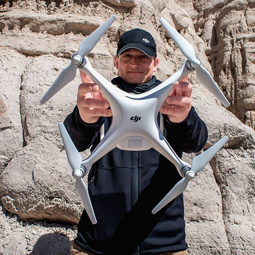 The sky's not the limit*Romeo Durscher of drone giant DJI speaks to Emily Hough about drones being used in safety and security applications