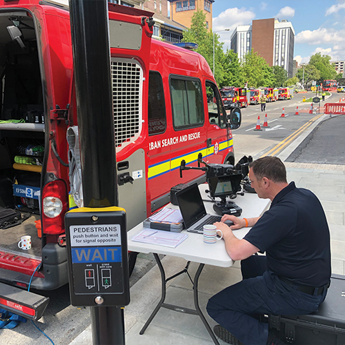 Drones for good*Charles Werner describes the London Fire Brigade's successful drone programme